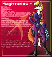 SAGITTARIUS REFERENCE SHEET by Eggplantm
