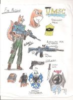 Sgt.Maj. Fox McCloud by BlackKnife12