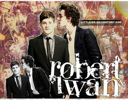 Iwan Rheon and Robert Sheehan by littleisa