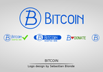 Bitcoin Logo Set by sebastianblonde by sbstnblnd