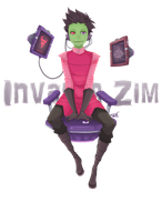 Invader Zim: Irken by Re-DEE-Mer
