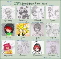 .: 2010 Summary Of Art :. by prince-buggy