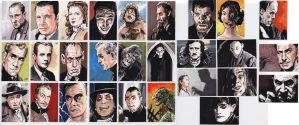 The Art of Robert Aragon sketch cards by tdastick