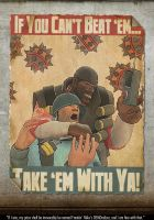 Art :: TF2 Propaganda Poster 5 by DodgeBall