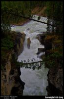 Sunwapta Falls Long by KSPhotographic