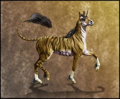 Tiger Unicorn by Angel-86
