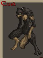 Coal the werewolf by Legacy350