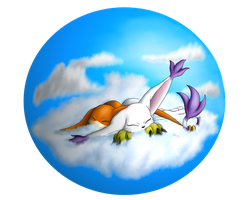 A Bed of Clouds by Cattensu