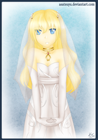 ToS - White Dress by Asatsuyu