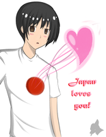 For EternalFlame22 and all Japan Lovers~ by HetaliaLuvingFox