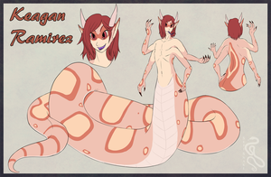 Commission: Keagan Reference by SepiSnake