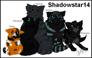 Request: Fam Portrait-Shadowst by Shadowgaze