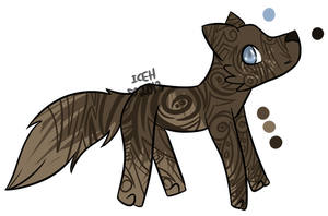 Brown Tribal Design by extraterrestriial