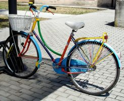 Bicycle rainbow by martaraff
