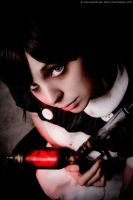 Aw it looks sad, Mr. B. - Littl Sister: Bioshock by Thecrystalshoe