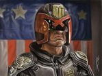 JUDGE DREDD STUDY by JaumeCullell