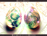 Shugo Chara - Heart's Eggs by Sublime-Innocence