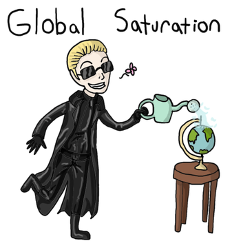 Global Saturation? by QueenSquirrel