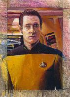 star trek tng 2 sketch card 5 by charles-hall