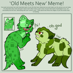 Meme : Old Meets New! by Amanska