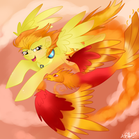 The Phoenix by goggle--boy