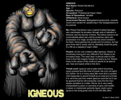 IGNEOUS BIO PAGE by Eggplantm