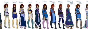 Sonovia's Water Tribe Disguise Clothes by Igakura