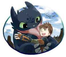 How to Train Your Dragon by tatsuri