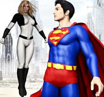 Superman and Ultrawoman Part One... by Knight22179