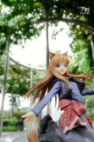 Horo the Wise Wolf - 3 by Amano7