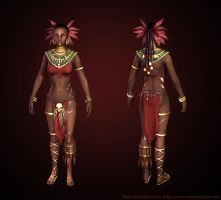 Low resolution Diablo III Witch doctor UnMasked by Azraele