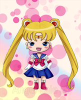 Chibi Sailor moon by AngelLale87