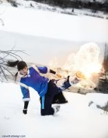 Korra. Fire Ferret Kick! by viewtifu1