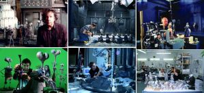 Making Of La Novia Cadaver by TimBurton-fans