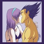 Bulma + Vegeta by Cat009