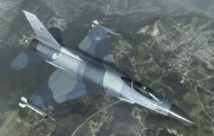 F-16A - Osean Air Defense Force by Jetfreak-7