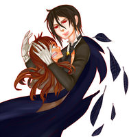 Commission :Black Butler Sebastian by Koichi-Sama