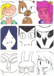Adventure Time ATC Set 2 by Ash-neverwind