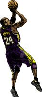Kobe Bryant 4 by tonetto17
