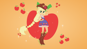 Equestria Girls Transformation - Applejack by Fangz17