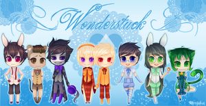 Wonderstuck Complete Set + Speedpaint by RingaButt