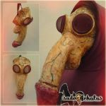 Handmade Mask: The DEFLORATOR (for sale) by SADOFEKALUS