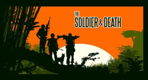 soldier and death 1970 by batfish73