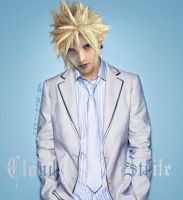 Cloud: Man in White by TD-Yukiryuu