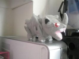 Rhyhorn Plush by Vulpes-Canis