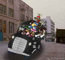 Here Comes the Toon Patrol by Duckyworth