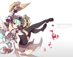 puzzle and dragons - Grace-Valkyrie by nnnnoooo007