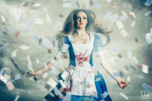 Mad Alice - Card Storm by WillCook