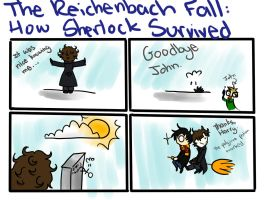 How Sherlock Survived by Applemist