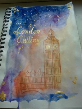London Calling by MCRsBlackMariah